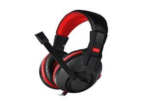 Marvo H8321, slúchadlá s mikrofónom, ovládanie hlasitosti, čierna, 2 x 3.5 mmJack