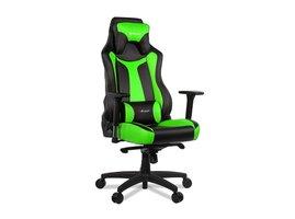 Arozzi VERNAZZA, herná stolička, čierno-zelená