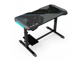 E-Blue Podsvietený herný stôl, 113cm x 59,5cm