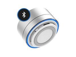Bluetooth Reproduktor Kisonli A10 - strieborný