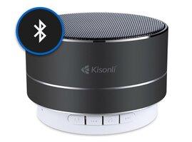 Bluetooth Reproduktor Kisonli LED-804 - čierny