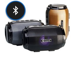 Bluetooth Reproduktor Kisonli LED-904 - šedý