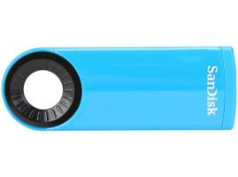 USB Flash SanDisk Cruzer Dial 64GB - modrá