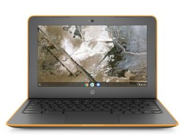 HP Chromebook 11A G6 AMD - orange