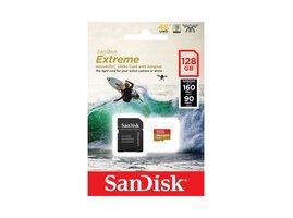 SanDisk MicroSDXC karta 128GB Extreme