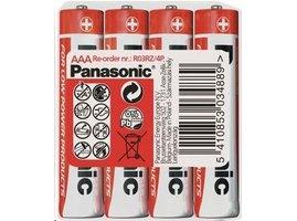 PANASONIC Zinkouhlíkové baterie Red Zinc