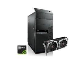 Lenovo ThinkCentre M92P Desktop + ASUS GTX1650 O4GB