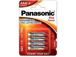PANASONIC Alkalické baterie Pro Power