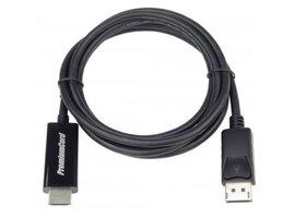 PREMIUMCORD Kabel DisplayPort 1.2 na HDMI 2.0