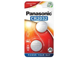Panasonic Lithium Power gombíková batéria CR2032, 2 ks, Blister