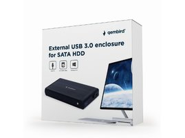Gembird externý USB 3.0 case pre 3,5 SATA