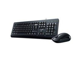 GENIUS klávesnice s myšíKM-160/ Drátový set/ USB/černý/ CZ+SK layout