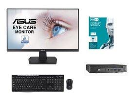 """HP Prodesk 600 G2 mini+23.8""""LCD+set kláv. myš+ ESET (BUNDLE)-1622615772"""