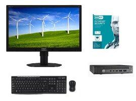 """HP Prodesk 600 G2 mini+22""""LCD+set kláv. myš+ ESET (BUNDLE)-1622615573"""