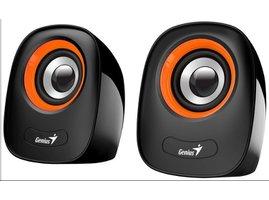 "GENIUS repro SP-Q160 Orange, 2.0, 6W, USB napájení, 3,5"" jack"