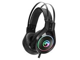 Marvo HG8901, slúchadlá s mikrofónom, ovládanie hlasitosti, čierna, USB