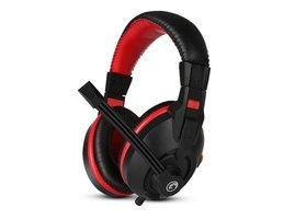 Marvo H8321P, slúchadlá s mikrofónom, ovládanie hlasitosti, čierna, 2 x 3.5 mm Jack